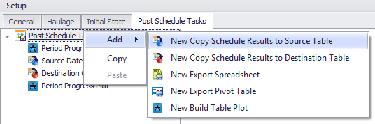 Post Schedule Tasks 2